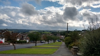 The view from Fulwood, a suburb on the west edge of Sheffield.